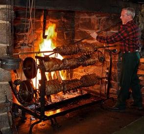 Photo of roasting jacks at Salem Cross Inn