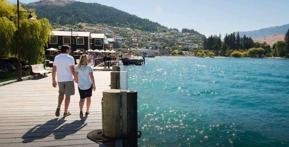 Photo of Steamer's Wharf in Queenstown