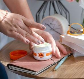 Photo of Yu-Be skincare product