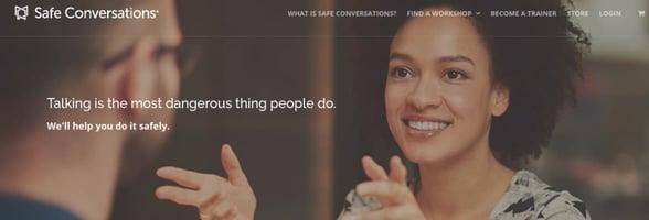 Screenshot of Safe Conversations