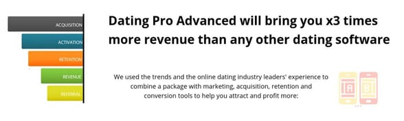 Screenshot of DatingPro