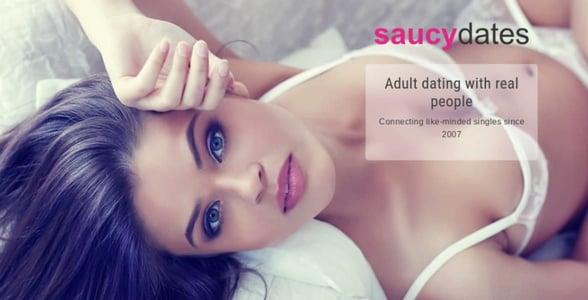 Screenshot of SaucyDates