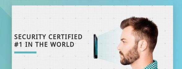 Screenshot of FaceTec