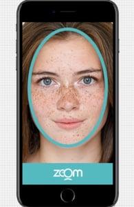 Photo of face verification