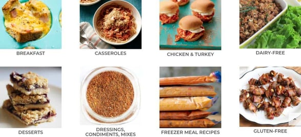 Thriving Home's recipes