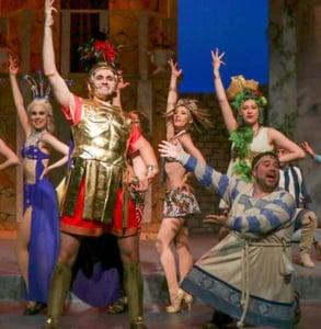 Photo of a Metropolis performance