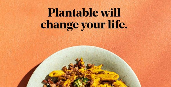 Screenshot of Plantable's website