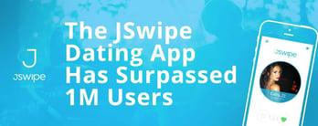 The JSwipe Dating App Has Surpassed 1M Users
