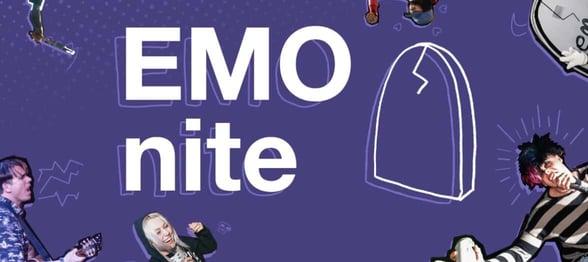Screenshot from EMO nite's website
