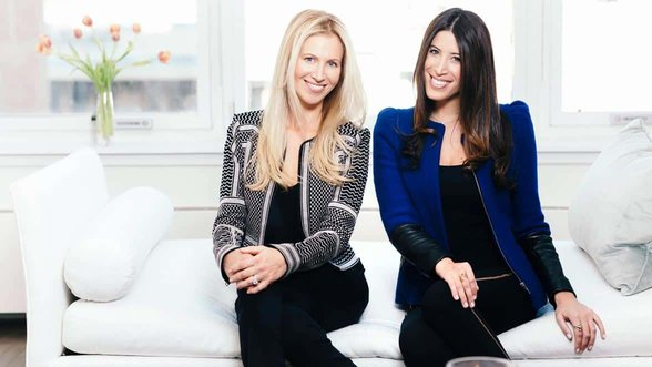 Photo of The BEVY Co-Founders Greta Tufvesson and Nikki Lewis
