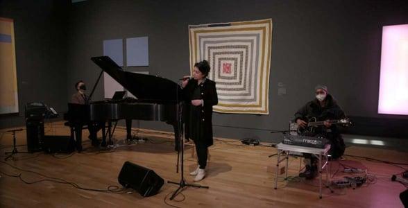 Photo of the centennial music program