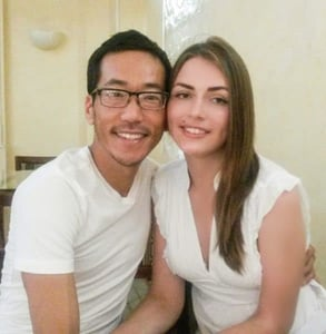 Photo of Victoria and David