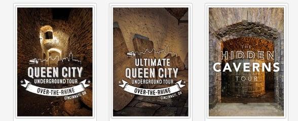 Screenshot of American Legacy Tours offerings