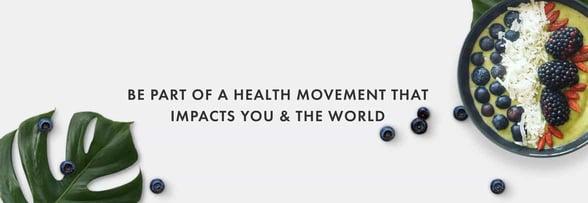 Screenshot from Nomadista Nutrition website