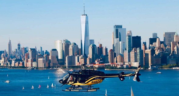 Photo of Zip Aviation helicopter ride