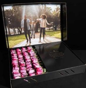 Photo of the Designer Four-Dozen box