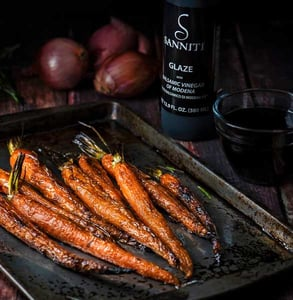 Photo of Sanniti balsamic glazed carrots