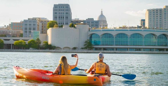 Photo of kayakers in Madison