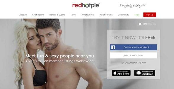 Screenshot of RedHotPie