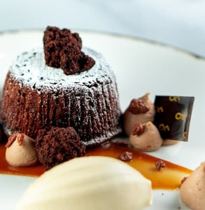 Photo of lava cake