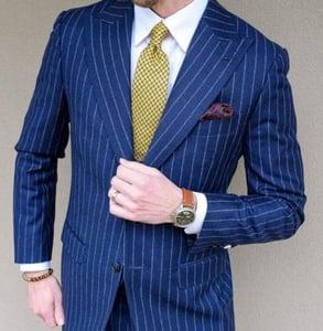 Photo of a blue suit