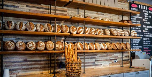 Photo of Hewn bread