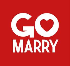 The GoMarry logo