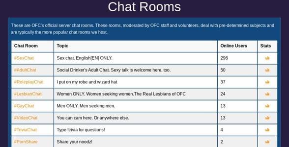 Screenshot of OnlineFreeChat