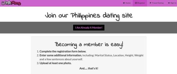 Screenshot of Hello Pinay