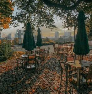 Photo of outdoor tables in Tallinn
