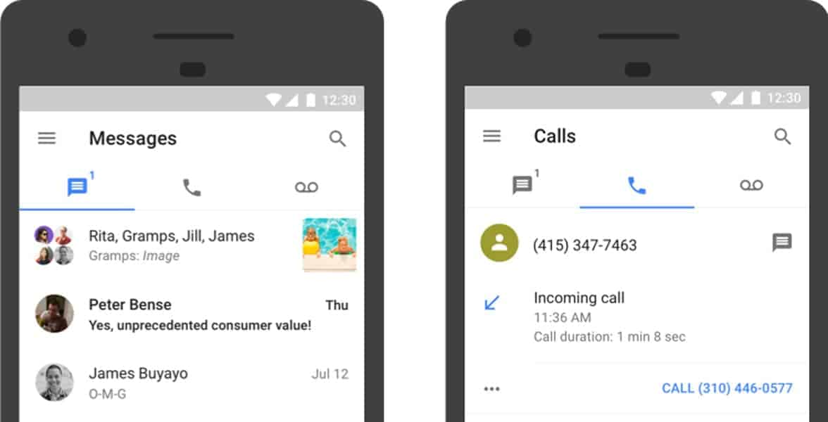 Photo of Google Voice