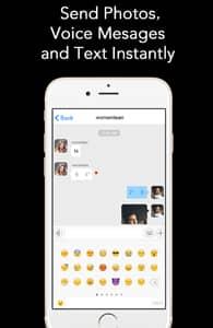 Screenshot of Transdr's message box