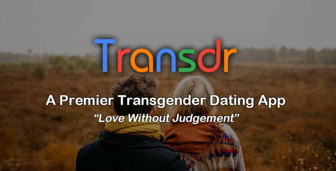 Screenshot of Transdr's landing page