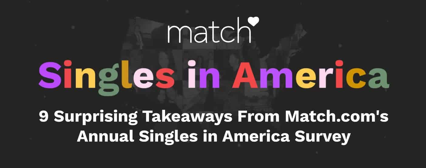 9 Surprising Takeaways From Match.com's Annual Singles in America Survey