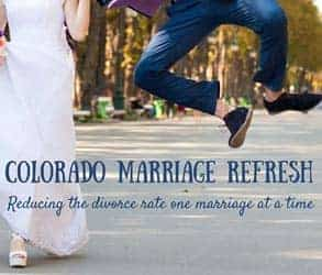 Screenshot from the Colorado Marriage Refresh page