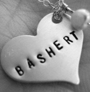 Photo of a heart-shaped charm