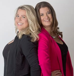 Photo of Emma Ziff and Juliette Prais, Founders of Pink Lobster Dating