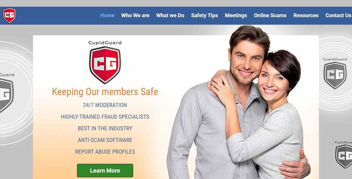 Screenshot from CupidGuard.com