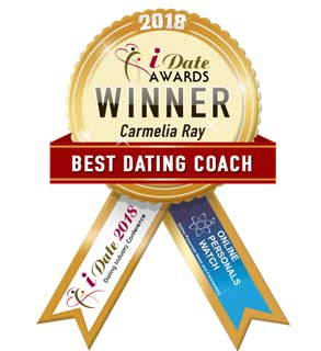 Photo of iDate's Best Dating Coach award