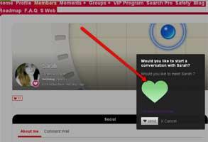 Screenshot of TinDating's profile