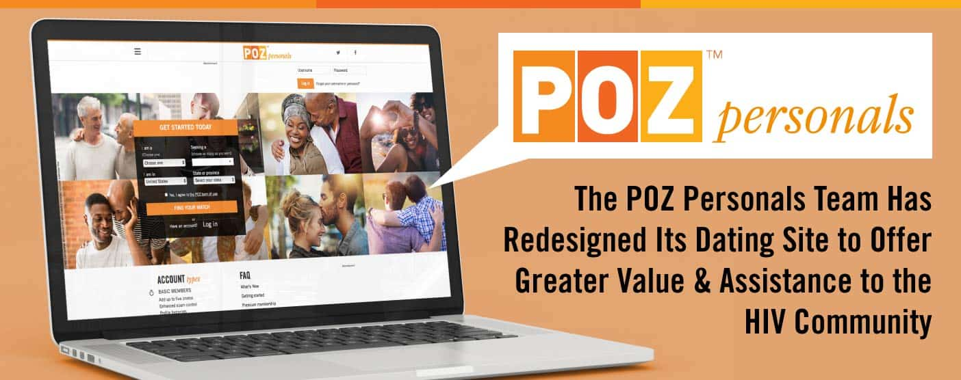 The POZ Personals Team Has Redesigned Its Dating Site to Offer Greater Value & Assistance to the HIV Community