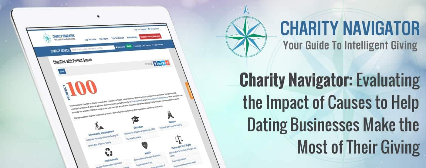 Charity Navigator: Evaluating the Impact of Causes to Help Dating Businesses Make the Most of Their Giving