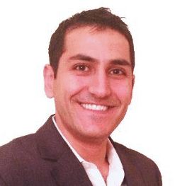 Photo of Toufan Rahimpour, COO of Logoworks
