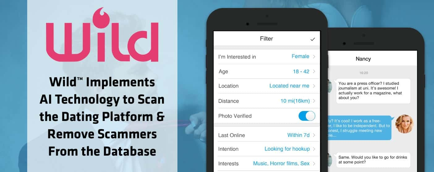 Wild™ Implements AI Technology to Scan the Dating Platform & Remove Scammers From the Database