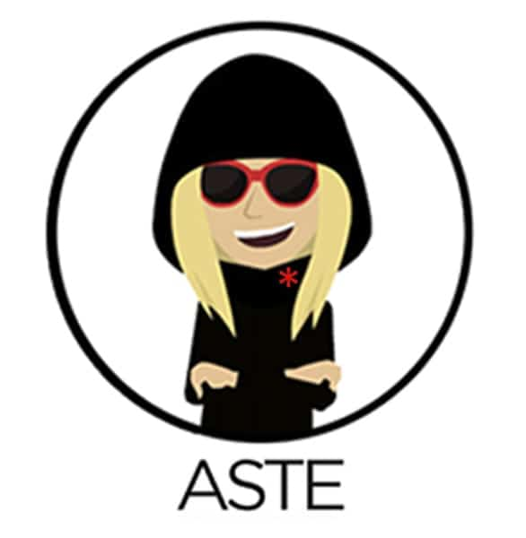 The Aste logo