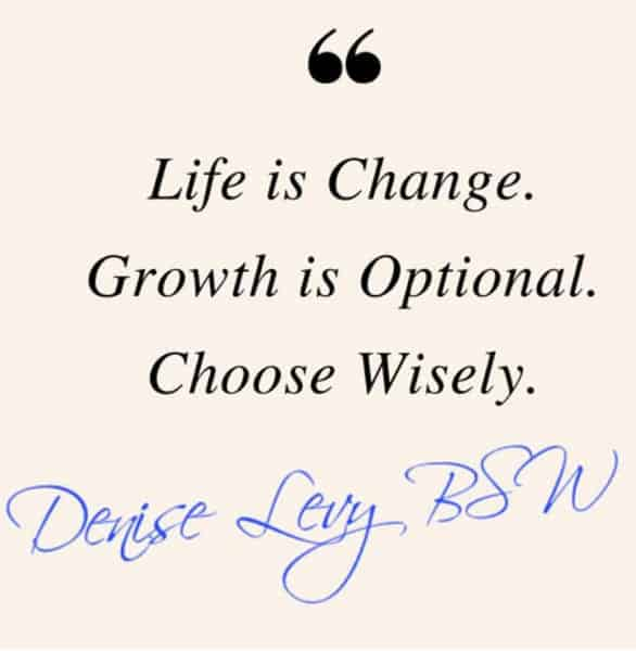 A Denise Levy quote