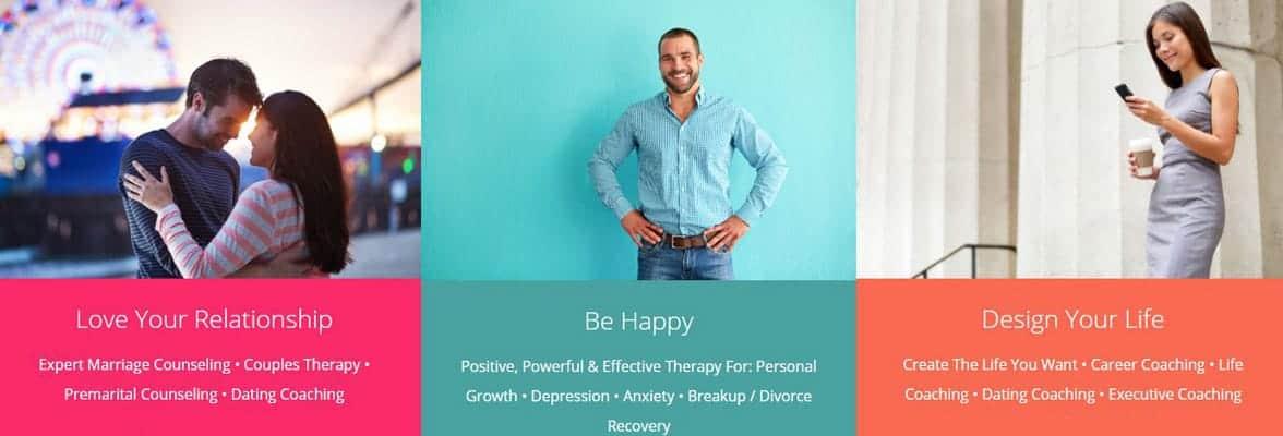Screenshot of Growing Self's website