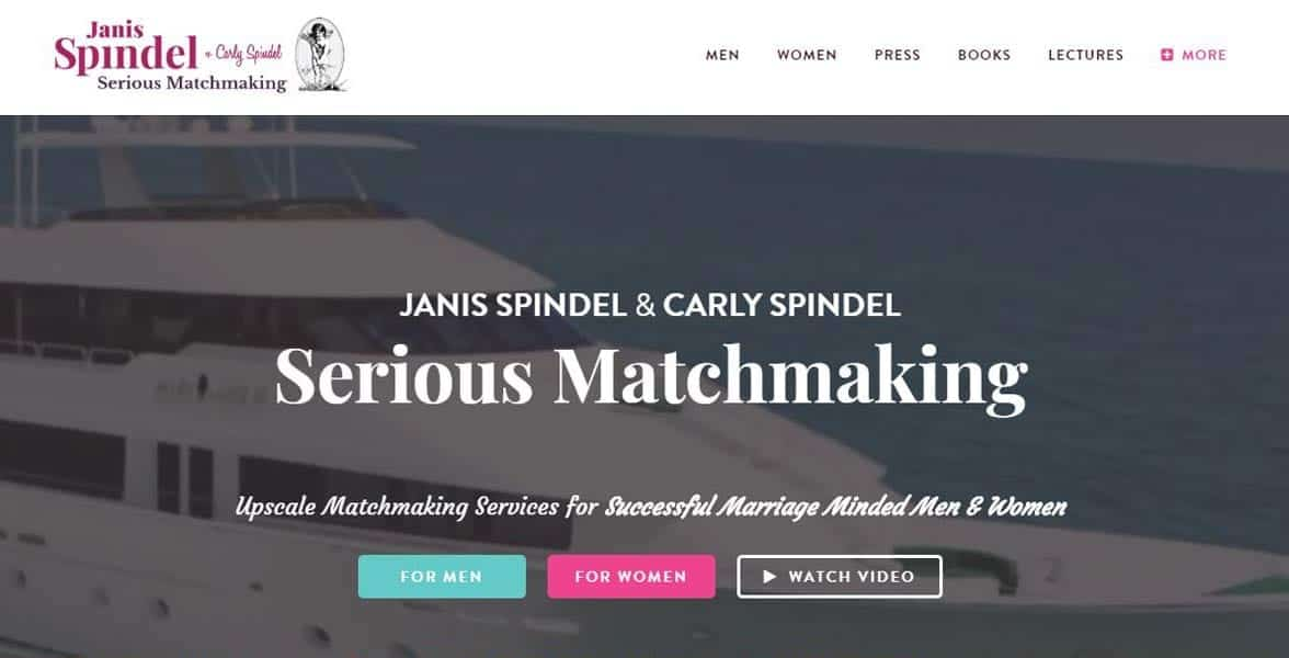 Screenshot of Janis and Carly Spindel's website
