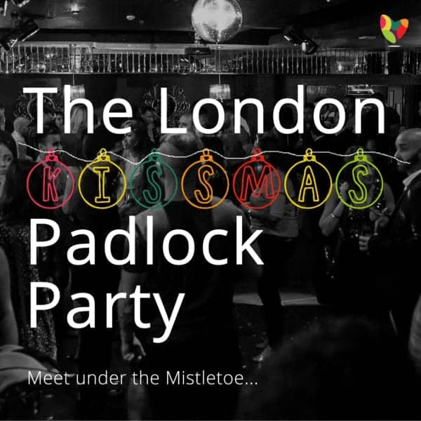 Flyer for the annual London Padlock Party