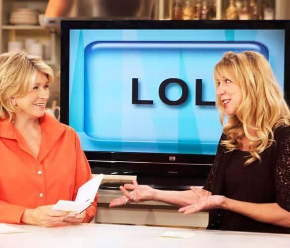 Photo of Erin Jansen on The Martha Stewart Show